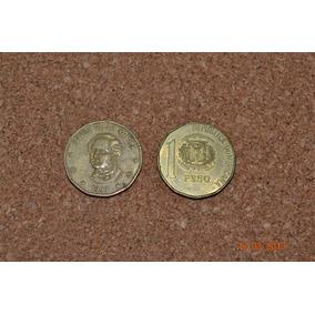 Moneda De Rep Dominicana 1 Peso Año 1993