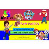 Kit Imprimible Paw Patrol Nena,invitaciones,fiesta, Y Mas2x1