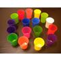 Vasos Plasticos Exc,calid 375 Cc Vs Colores X 10 Unid A $ 60
