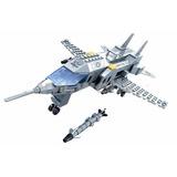 Avião De Guerra Exercito Caça De Combate Lego Compatível