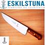 Cuchillo Eskilstuna 398 Hoja 27,5cm Acero Al Carbono, Madera