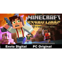 Mincraft Story Mode Original Pc Ep 1, 2, 3 E 4