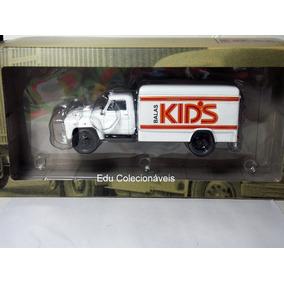 Miniatura Caminhão Chevrolet Balas Kids 1959 1/43 Coleção
