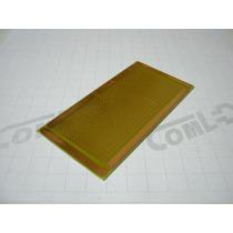 Placa De Circuito Impresso Ilhada 518 Furo 10x5cm Pcb Padrão
