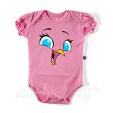 Body Infantil Stella Angry Birds Roupas Bebe