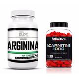 Arginina Pura 200 Caps + L-carnitina 60 Caps Athletica
