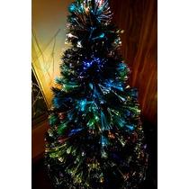 Arbol Navidad Fibra Optica Multicolor 1.50 Mts Envio Gratis