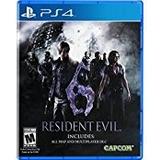 Resident Evil 6 Ps4 Cd Fisico Sellado Incluye Dlc!!!