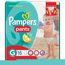 Fralda Descartável Pants Tam. G - 64 Unidades - Pampers
