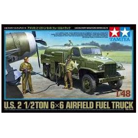 Tamiya - 1/48 Us Airfield Fuel Truck 2 1/2 Ton 6x6
