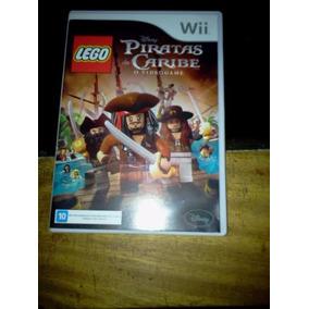 Piratas Do Caribe- Lego- Jogo Para Wii - Novíssimo Míd Físi