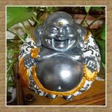 Buda Budas Abundancia Grandes. Figuras De Yeso