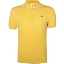 Camisa Camiseta Gola Polo Lacoste Varias Cores Promoção!!