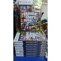 Gta 5 V Br Xbox 360 Grand Theft Auto Mídia Física Lacrado
