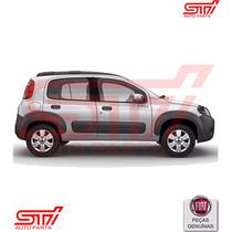 Moldura Paralamas Traseiro Fiat Novo Uno Way 11-14