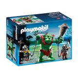 Playmobil Knights Trol Gigante Con Luchadores 6004 Educando