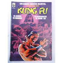 Grandes Heróis Marvel Nº 6: Mestre Do Kung Fu - Abril - 1984