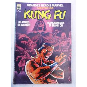 Grandes Heróis Marvel Nº 6: Mestre Do Kung Fu - Abril - 1984