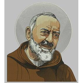 Matriz Bordados Computadorizados Religioso Padre Pio