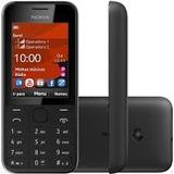 Celular Dual Chip Nokia 208 Desbloqueado Preto 3 G