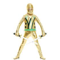 Disfraz Ninja Dorado Niño Traje Halloween