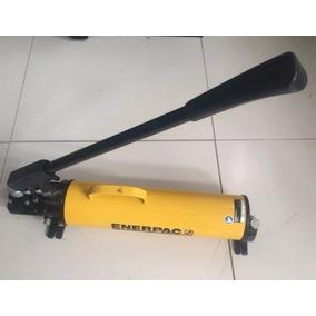 Bomba Hidraulica Manual 4 Vias Enerpac P84 2 Vel. 10000 Psi