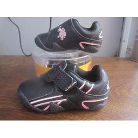 Hermosas Zapatillas Para Nina Marca Us Polo Assn Importado