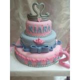 Torta Decorada Cenicienta Y Princesas