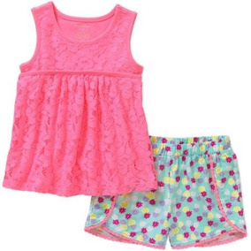 Blusa Shorts Americano Niña Talla 2 Años
