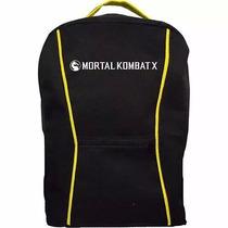 Mochila Mortal Kombat X - Amarela Promoção