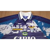 Camisa Do Lazio Itália Antiga Sem Uso De Coleção