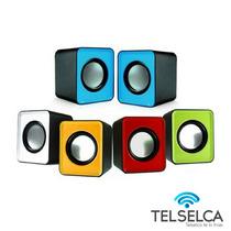 Mini Cornetas Usb Portatiles Speakers 2.0 Pc Laptop Celular
