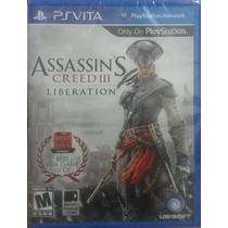 Assassins Creed 3 Liberation Psvita Novo Pronta Entrega