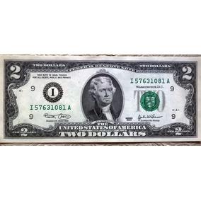 Fajo 50 Billetes 2 Dolares Usa 2003 I Valor Catalogo Us$2500