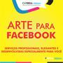Arte Para Facebook Criação Criar Publicação Cartaz Virtual
