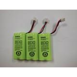 Batería Recargable Teléfono Inalámbric Sanik 2sn-aaa55h-s-j1