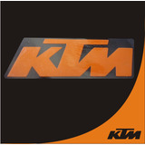 Emblema Calcomania Stickers Ktm Moto Vehiculo Tipo Blindada