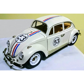 Herbie - Cupido Motorizado / Volkswagen Beetle - Escala 1:18