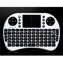 Mini Teclado Wireless 2.4ghz Mouse Touchpad Bateria Li-ion