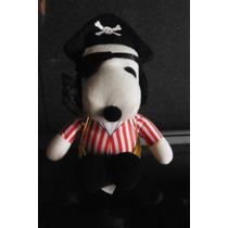 Peluche Snoopy Edicion Halloween Disfraz Pirata Disguise