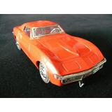 Corvette Lata Tayio Japan Brinquedo Antigo Chevrolet Coleção