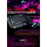 Kit Teclado Y Mouse Gamer Retroiluminado Gameit2 Usb