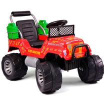Auto Bateria Jeep Rodacros Explorator Electrico 6v Garantia