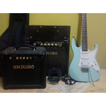 Guitarra Ibanez + Amplificador Meteoro
