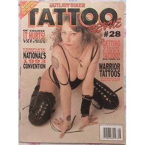 Tattoo Revue Nº 28 (1993) Revista Importada De Tatuagem