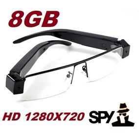Óculos Espião 8gb Qualidade Hd 720p; Imperceptível. Discreto