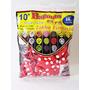 Balão,bexiga,modelo C/ Vermelho Bolinha Branca 100 Unidade