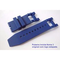 Pulseira Invicta Subaqua 5515 Noma Iii Original Azul