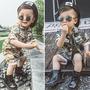 Conjunto Militar Menino Bebê Infantil