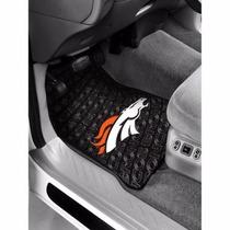 Par De Tapetes Nfl Denver Broncos Para Carro Vehiculo